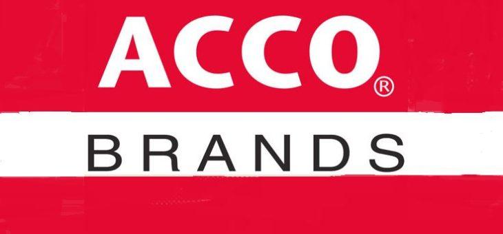 Поступление на склад товара ACCO Brands